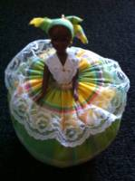 Green Madras Doll_image